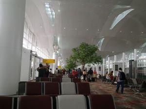Kuala Namu waiting room