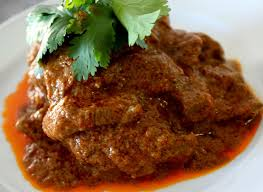 Rendang, a  spicy food from Padang
